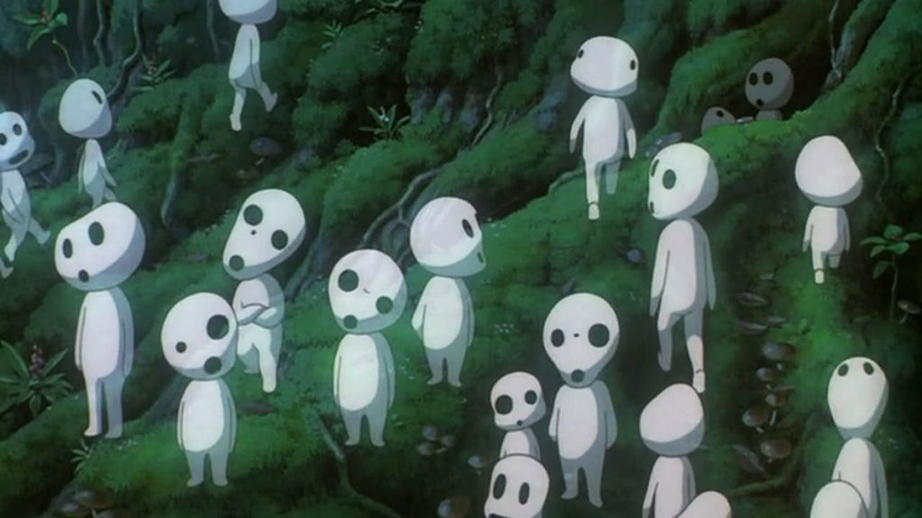 The kodama followed us to the chaxi