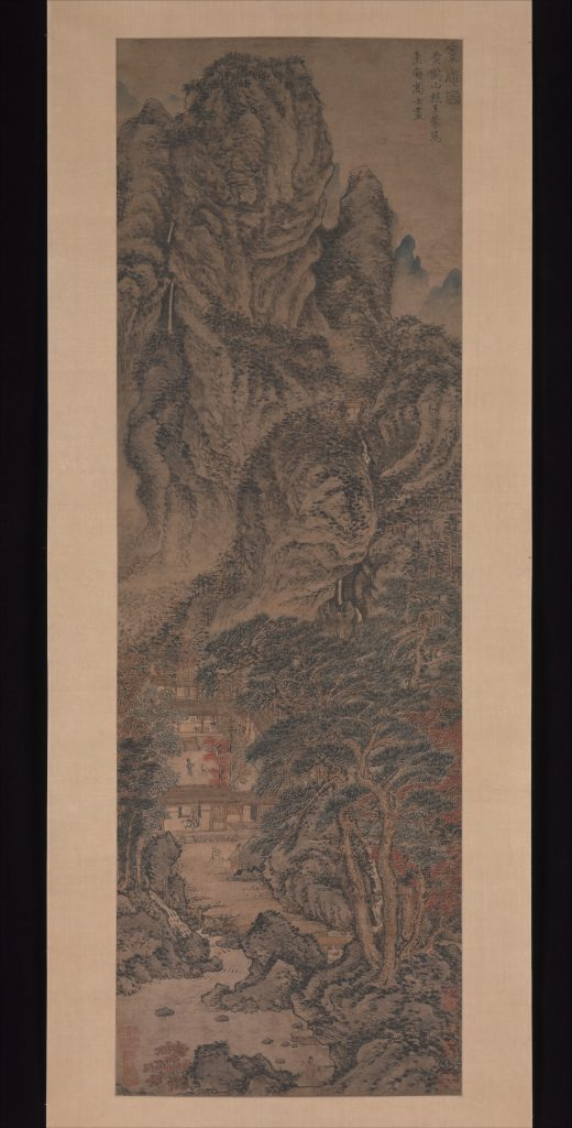 The Simple Retreat by Wang Meng ca. 1370